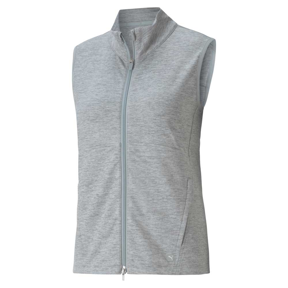 Puma Women's 2021 Cloudspun Full Zip Vest
