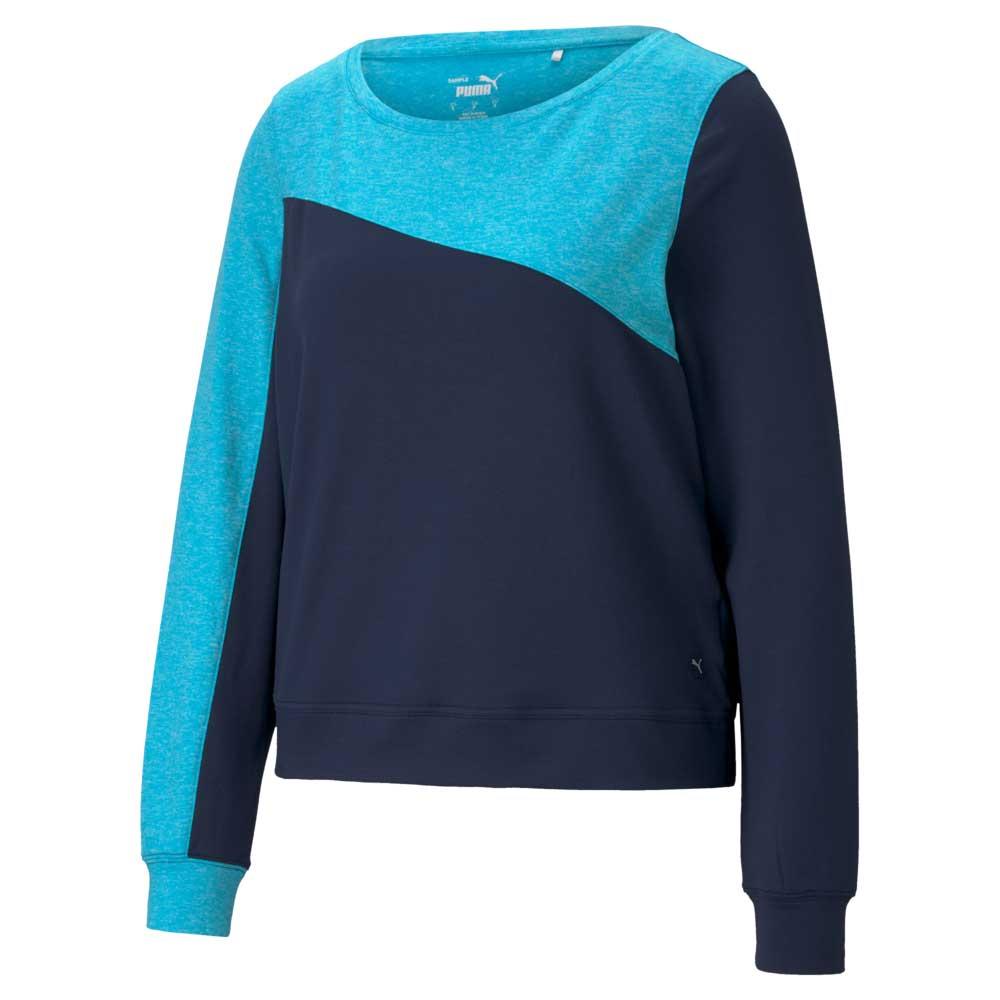 Puma Women's 2021 Colorblock Crew Sweater