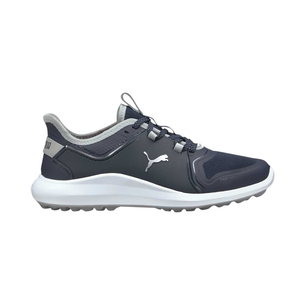 Puma Women's 2021 Ignite Fasten8 Navy/Silver Golf Shoe