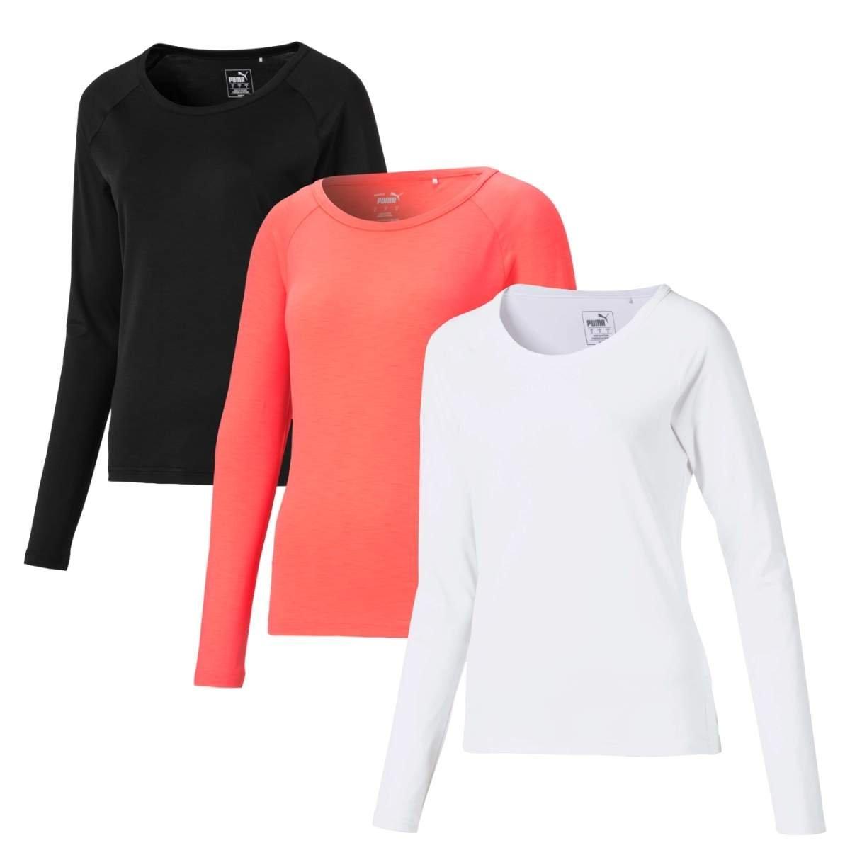 Puma Women's 2021 Longsleeve Sun Crew Shirt