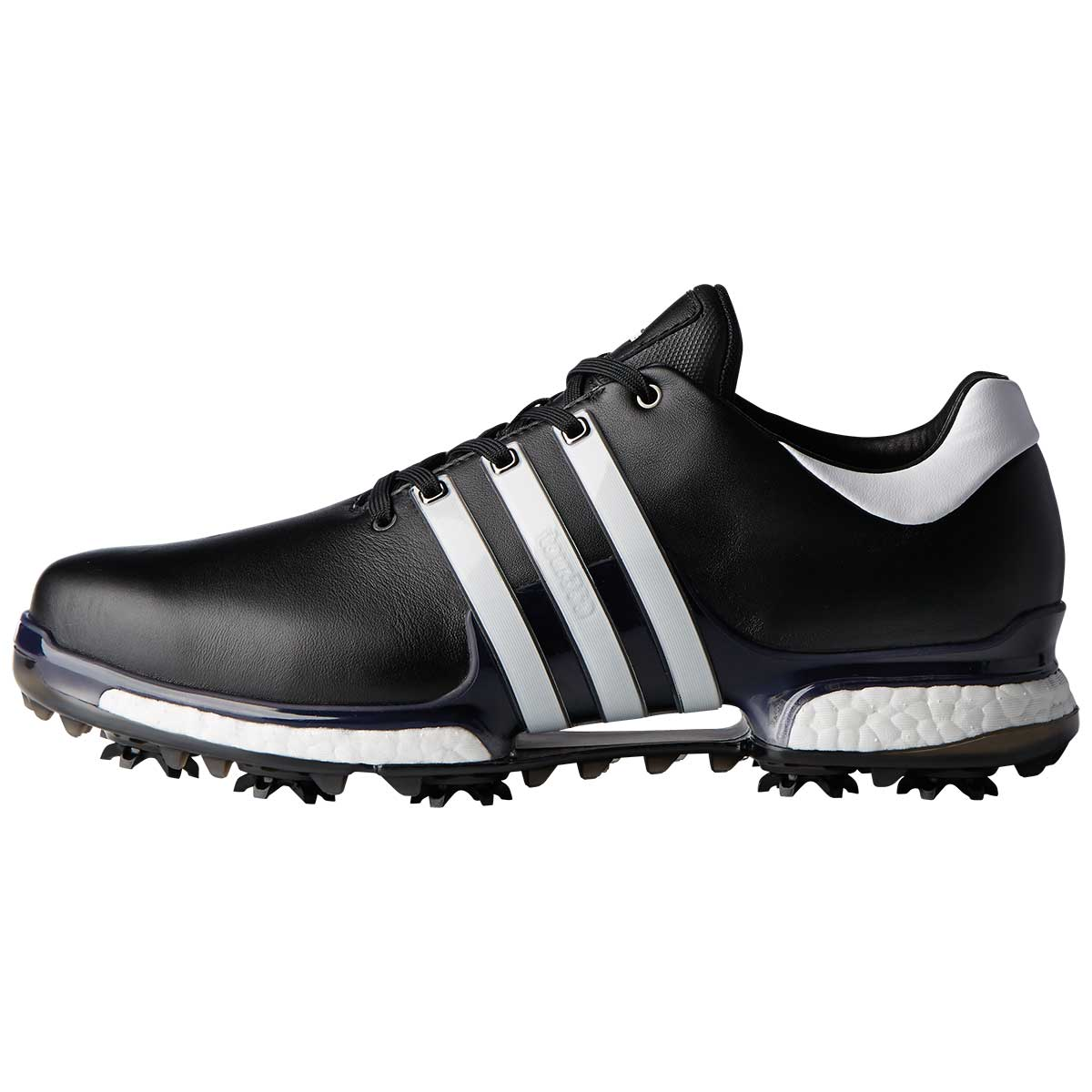 Adidas Men's Tour 360 2.0 Black/White Golf Shoes