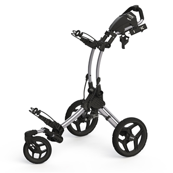 Rovic Swivel RV1S Golf Push Cart Silver/Black