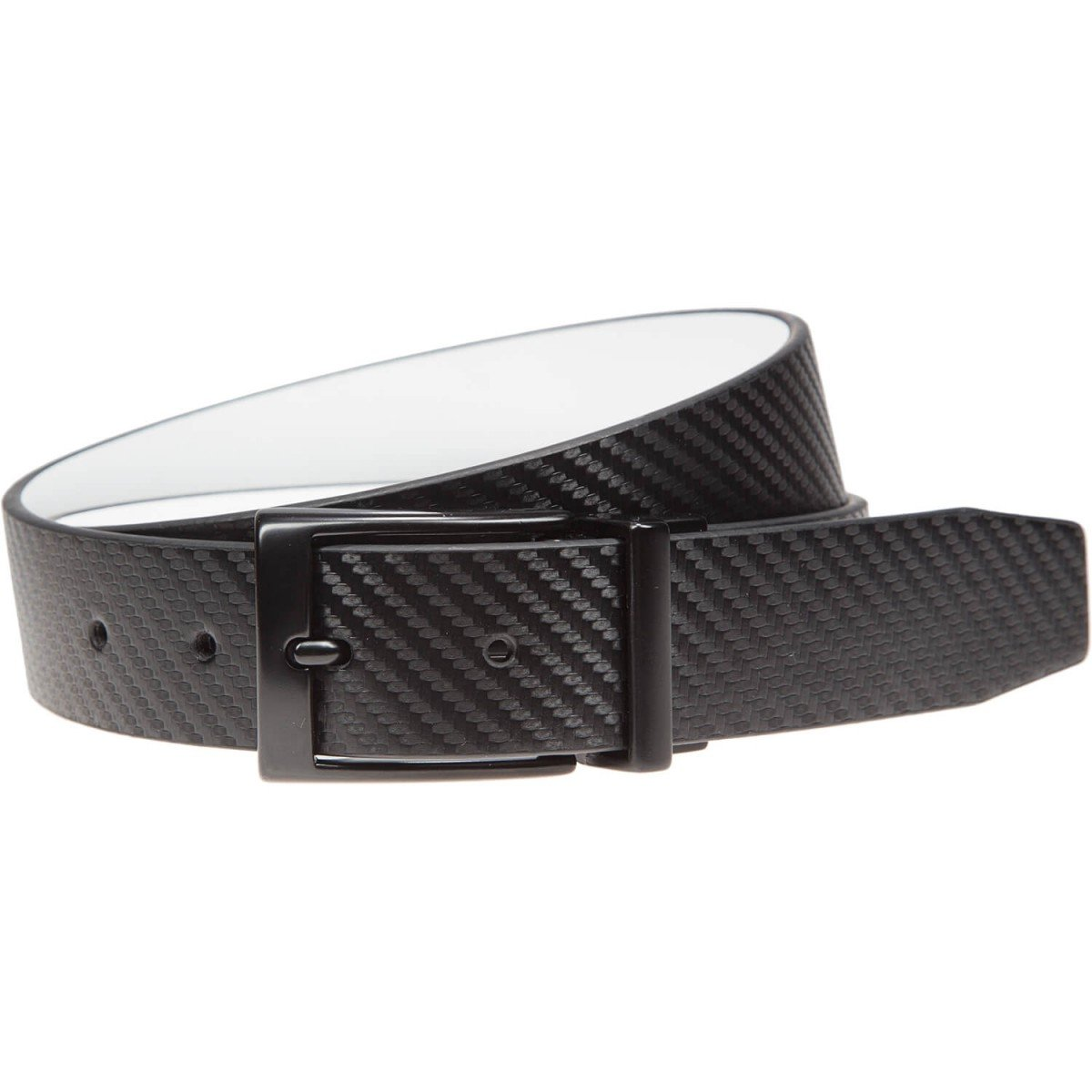 Nike Carbon Fiber Reversible Black/White Belt