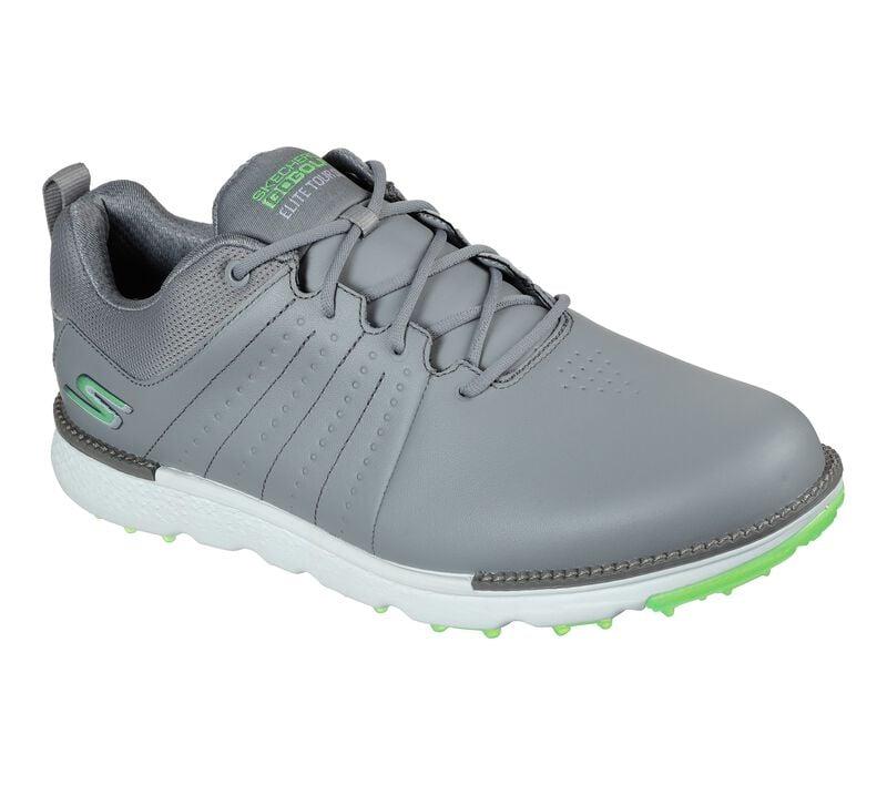 Skechers Men's Go Golf Elite Tour SL Golf Shoe - Grey/Lime