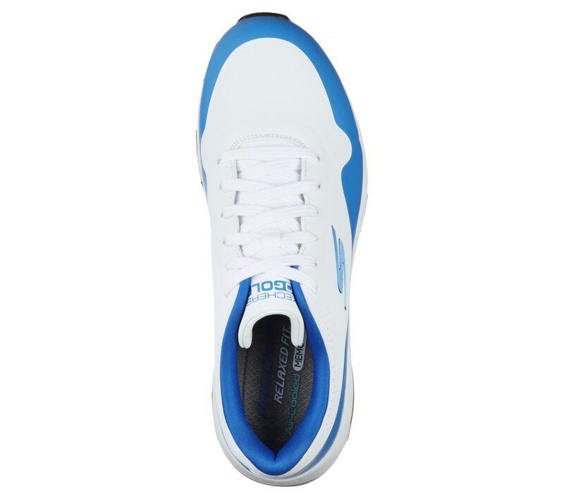 Skechers Men's Go Golf Skech-Air Dos Shoe - White/Blue