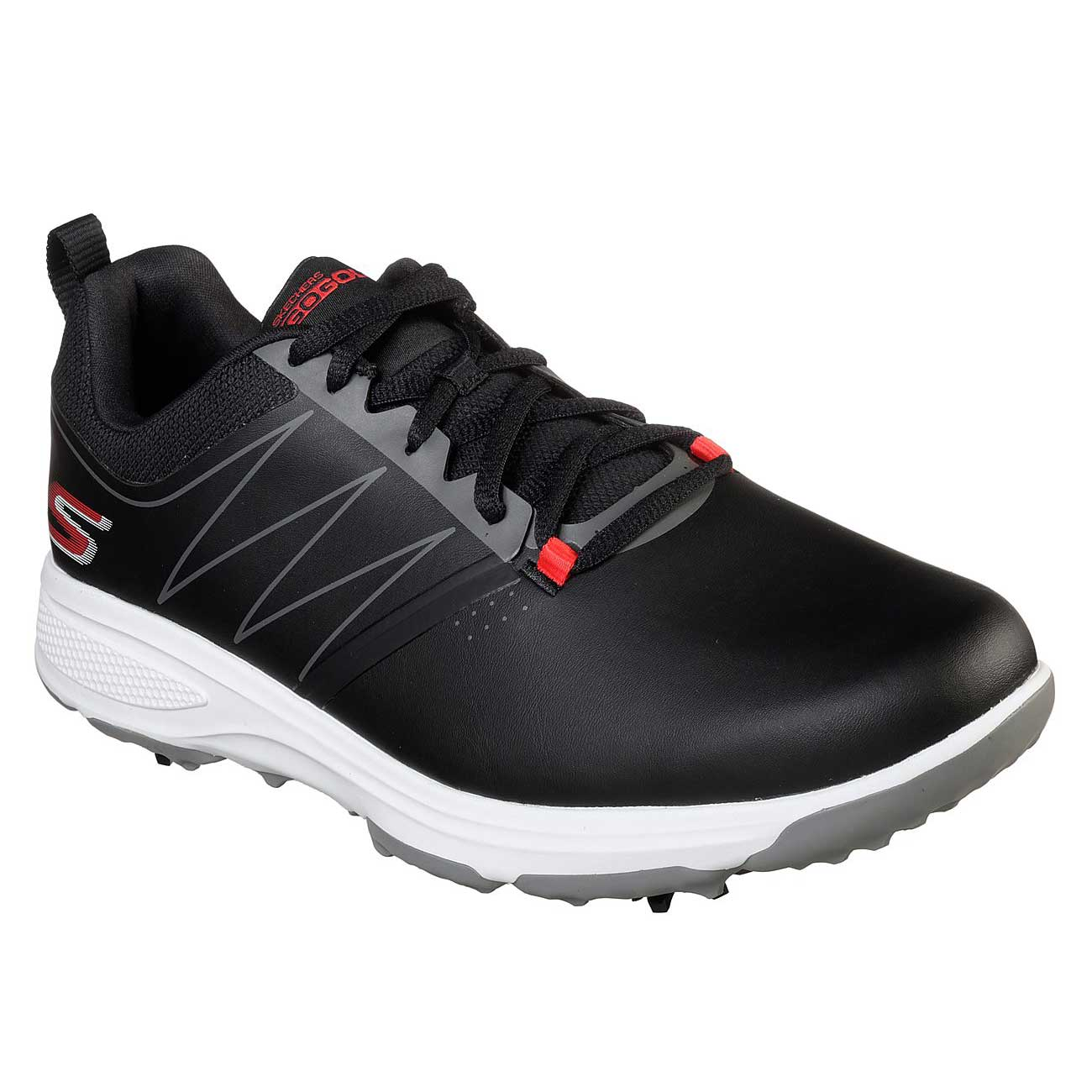 Skechers Men's Go Golf Torque Black/Red Golf Shoe