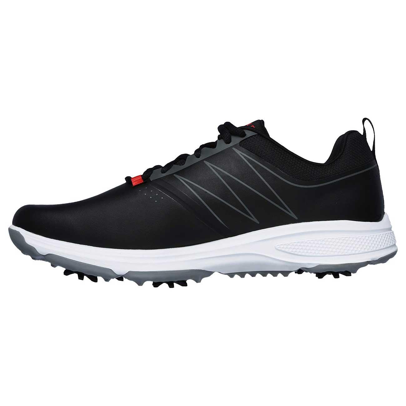 Skechers Men's Go Golf Torque Black/Red Golf Shoe