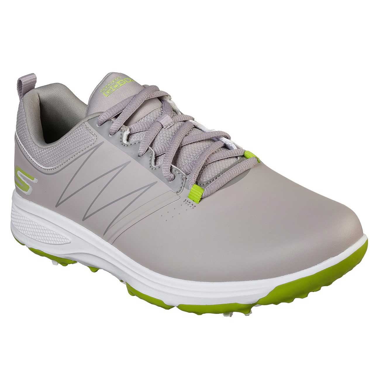 Skechers Men's Go Golf Torque Grey/Lime Golf Shoe