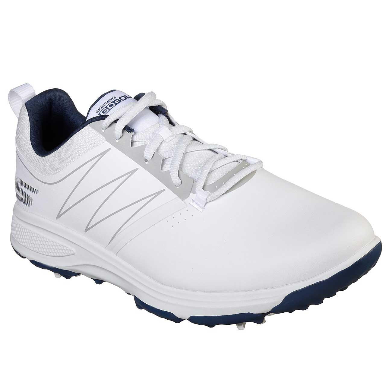 Skechers Men's Go Golf Torque White/Navy Golf Shoe