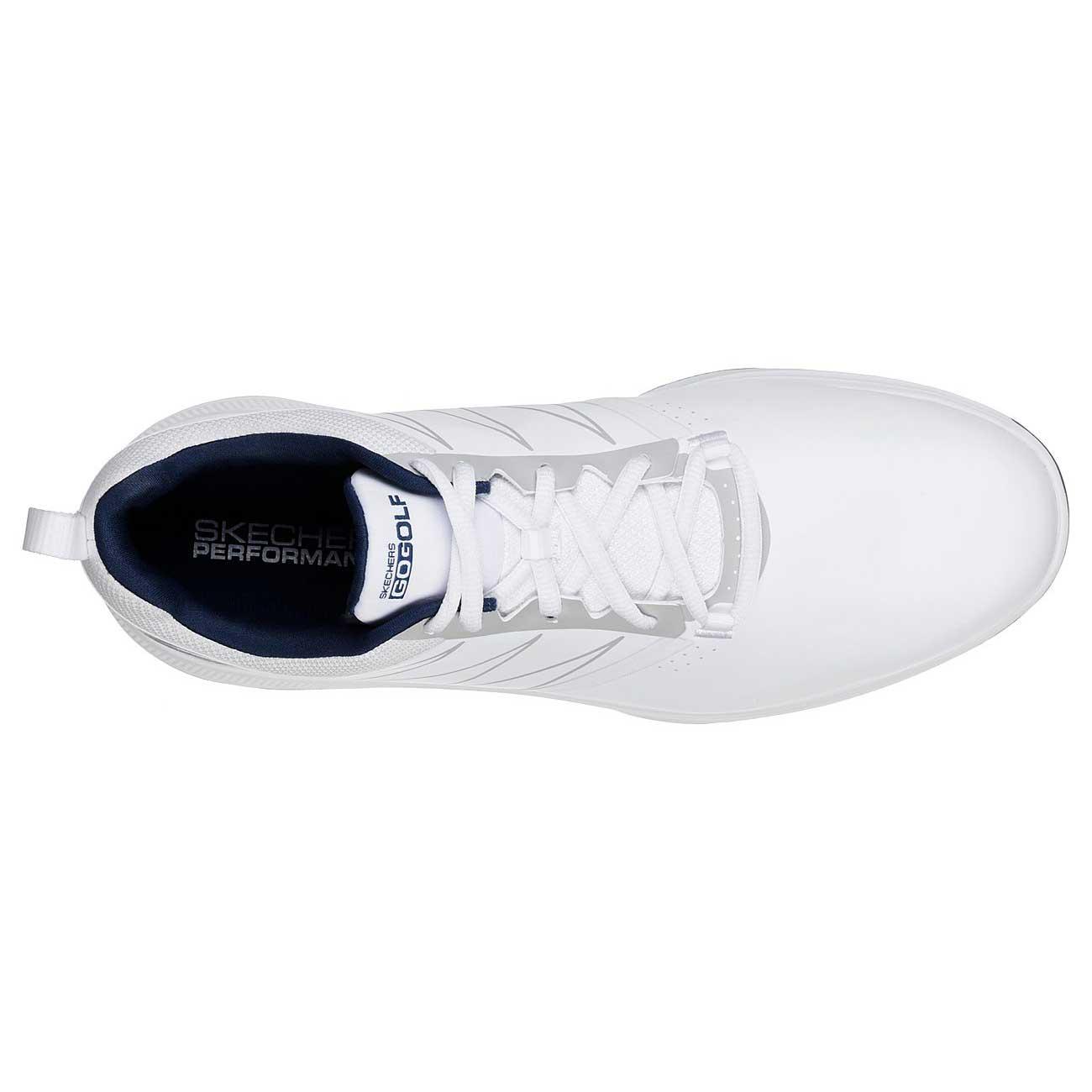 Skechers Men's Go Golf Torque White/Navy Golf Shoe