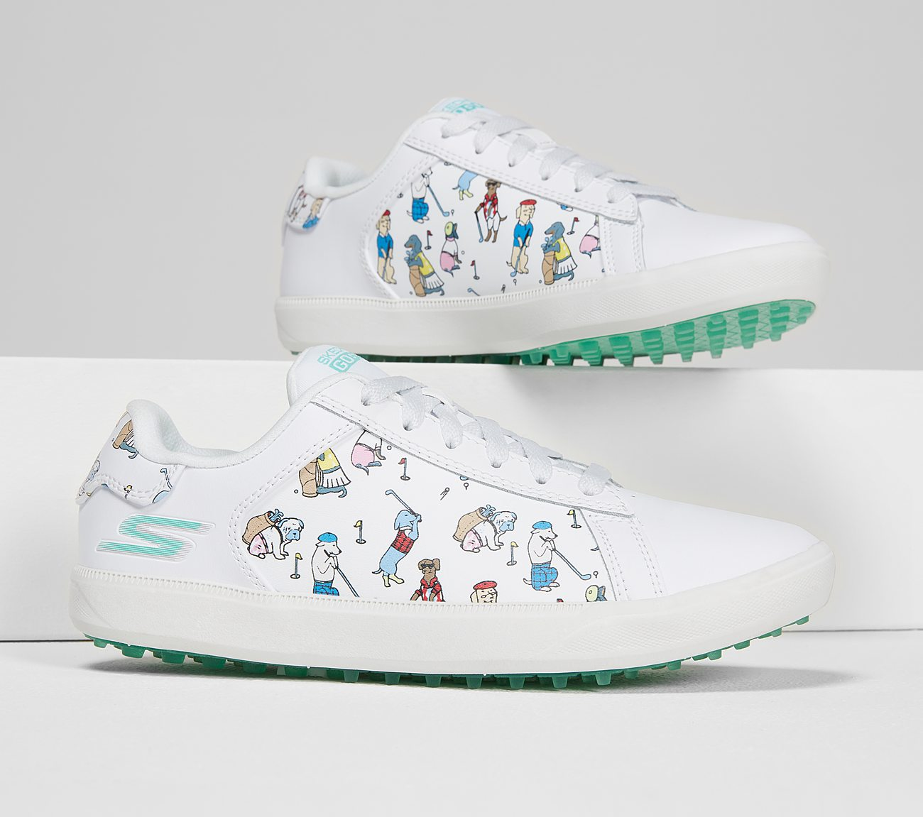 Skechers Women's Go Golf Drive 4 Dogs At Play Golf Shoe
