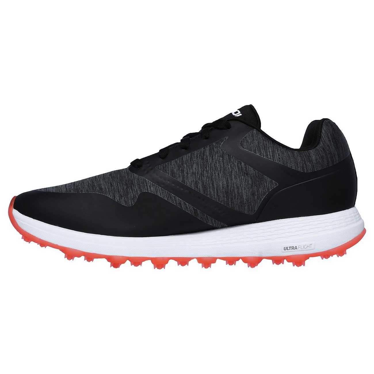 Skechers Women's Go Golf Max Cut Black/Pink Golf Shoe