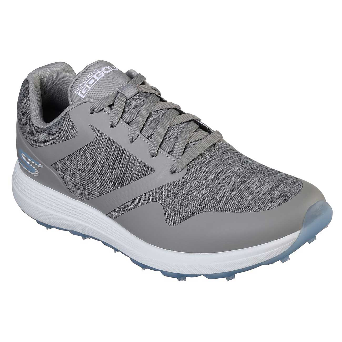 Skechers Women's Go Golf Max Cut Grey/Blue Golf Shoe