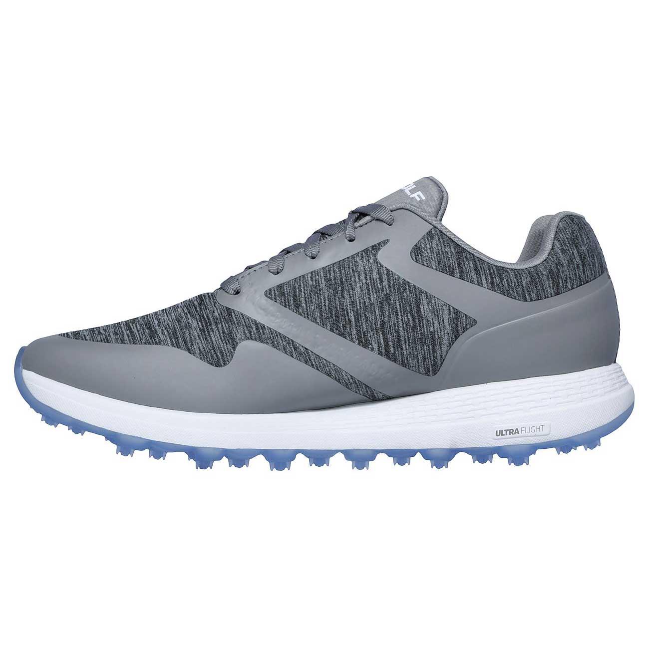 Skechers Women's Go Golf Max Cut Grey/Blue Golf Shoe