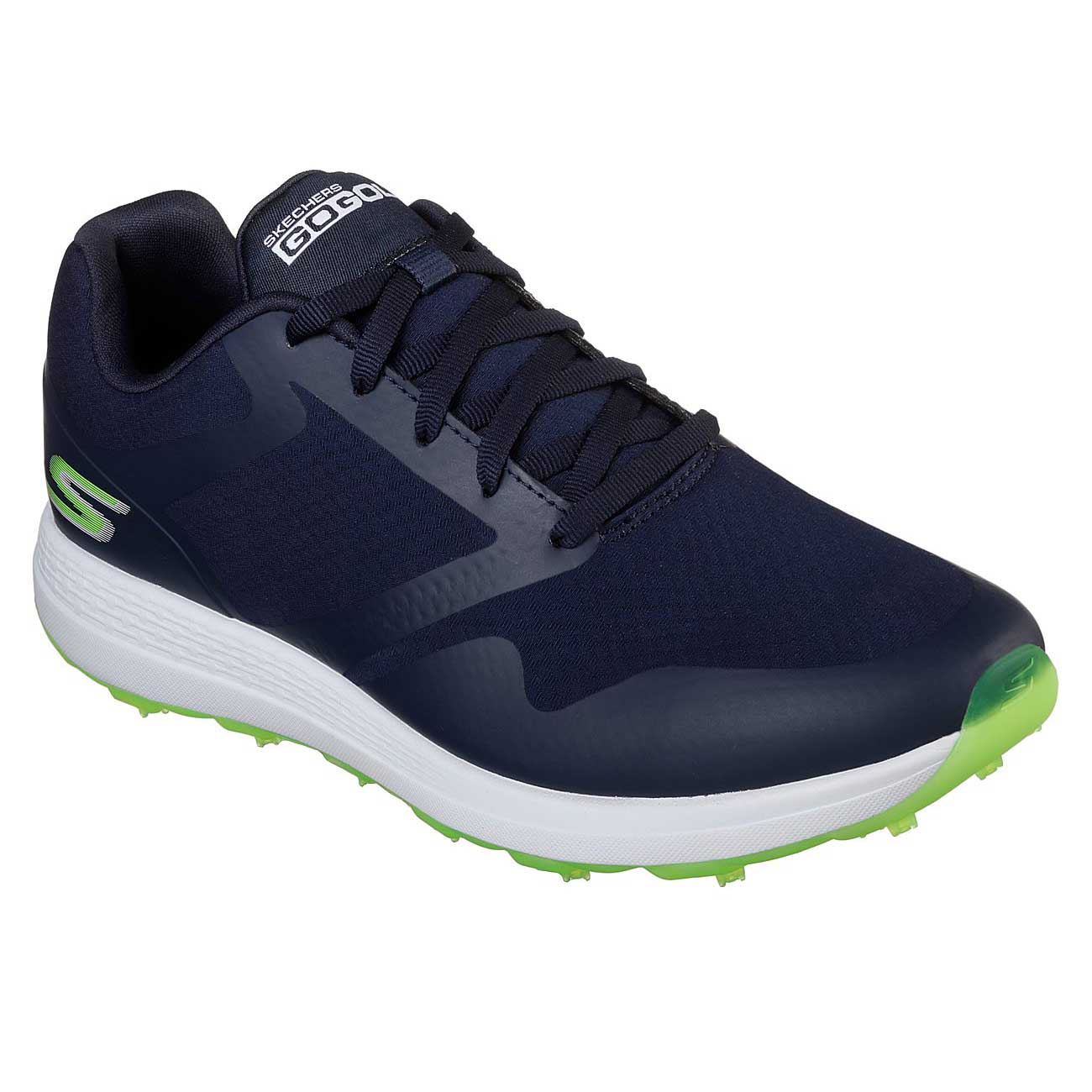 Skechers Women's Go Golf Max Fade Navy/Green Golf Shoe