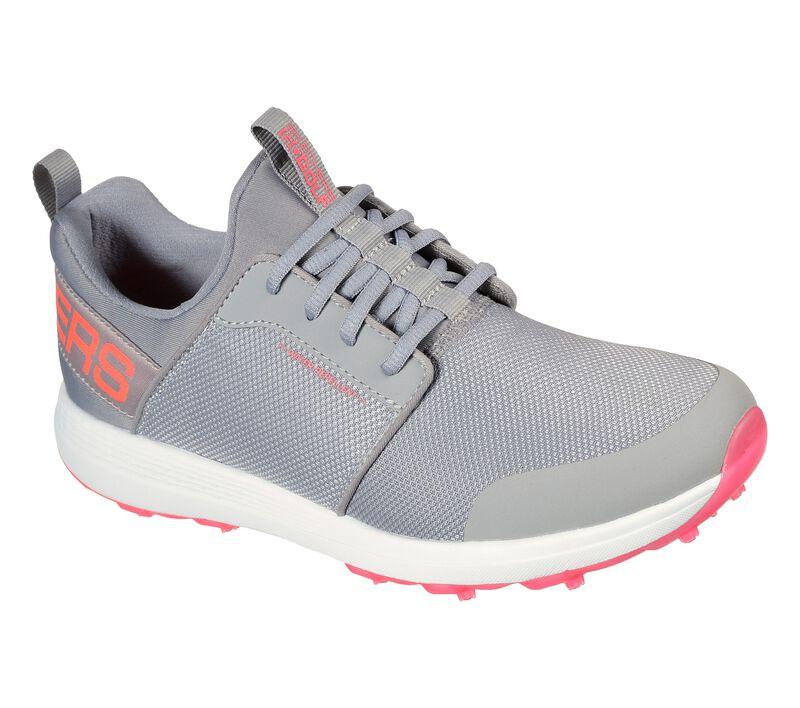 Skechers Women's Go Golf Max Sport Golf Shoe - Grey/Coral