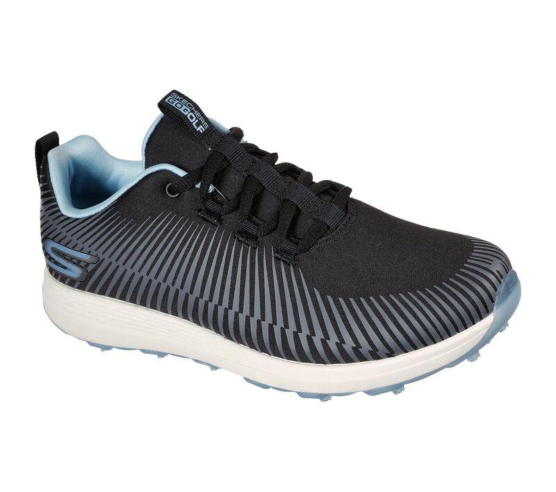 Skechers Women's Go Golf Max Swing Golf Shoes - Black/Blue