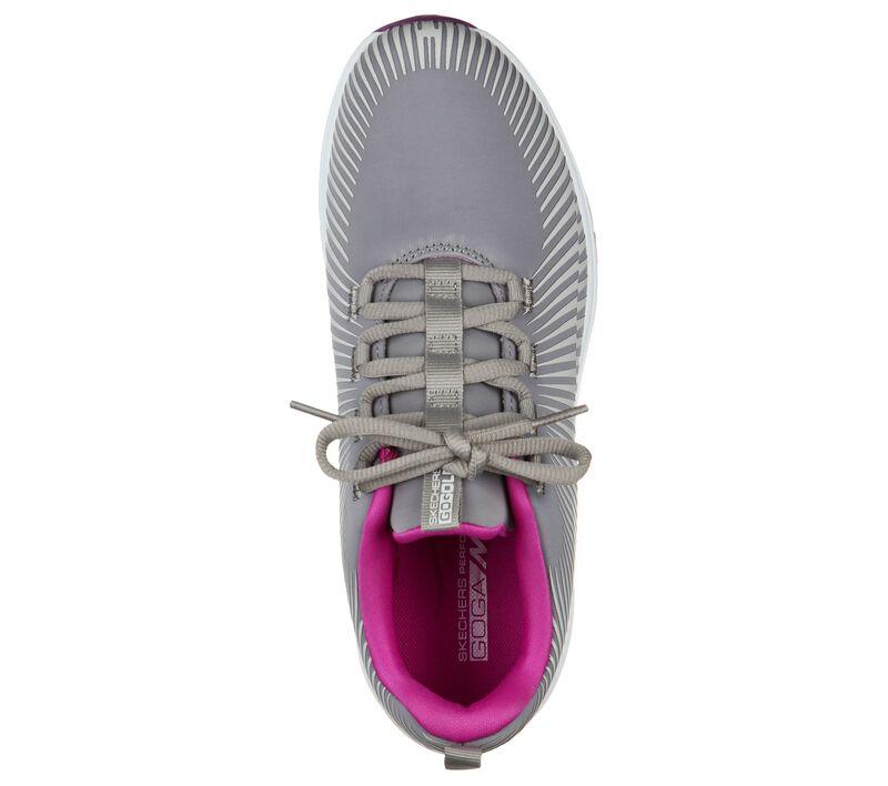 Skechers Women's Go Golf Max Swing Shoe - Grey/Purple