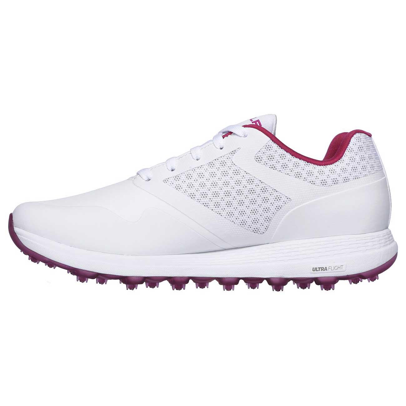 Skechers Women's Go Golf Max White/Pink Golf Shoe