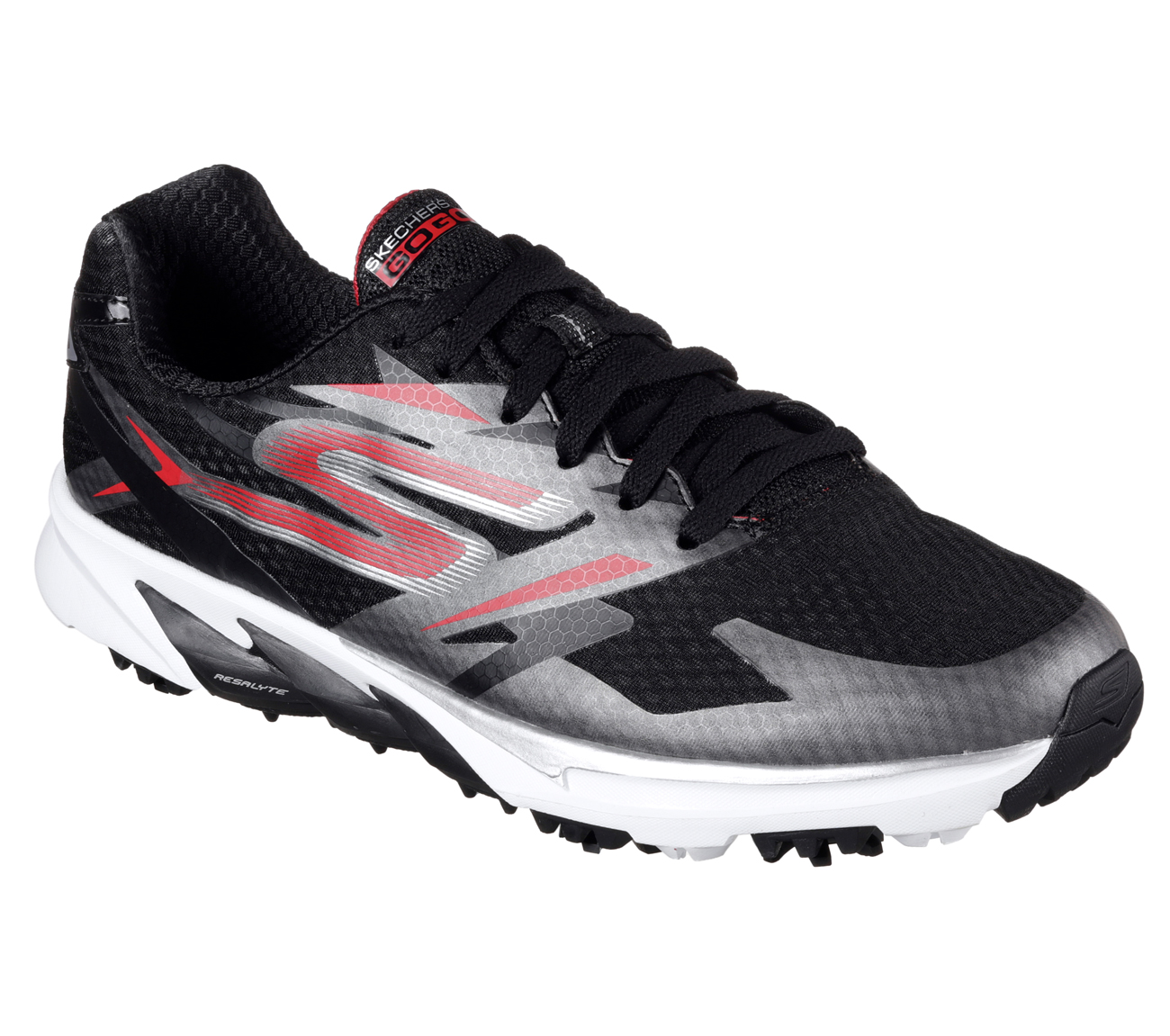 Sketchers Men's Go Golf Blade Power Golf Shoe - Black/Red