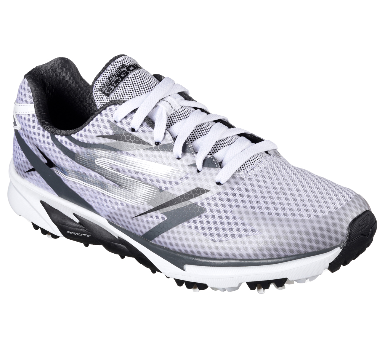 Sketchers Men's Go Golf Blade Power Golf Shoe - White/Grey