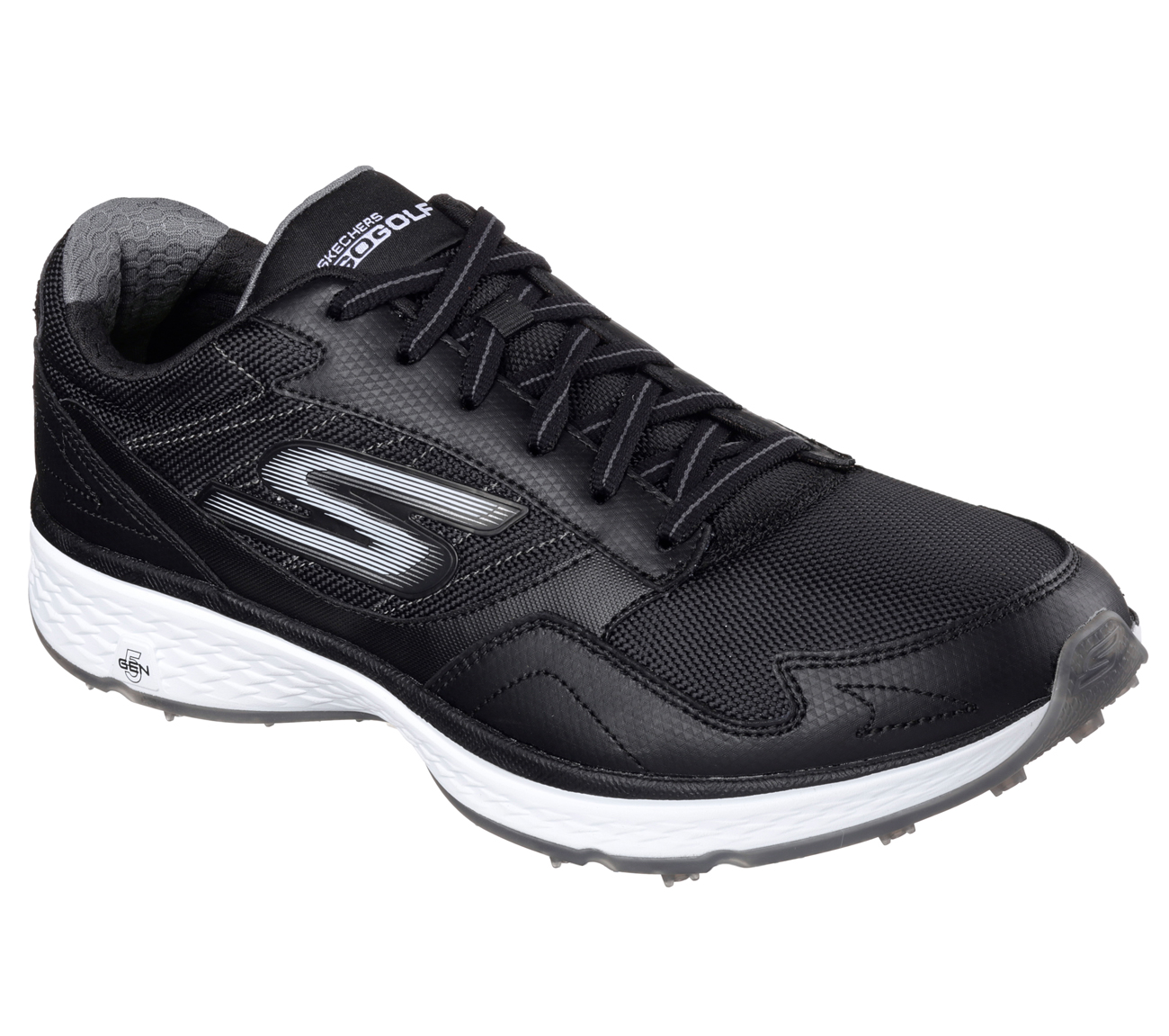 Sketchers Men's Go Golf Fairway Golf Shoe - Black
