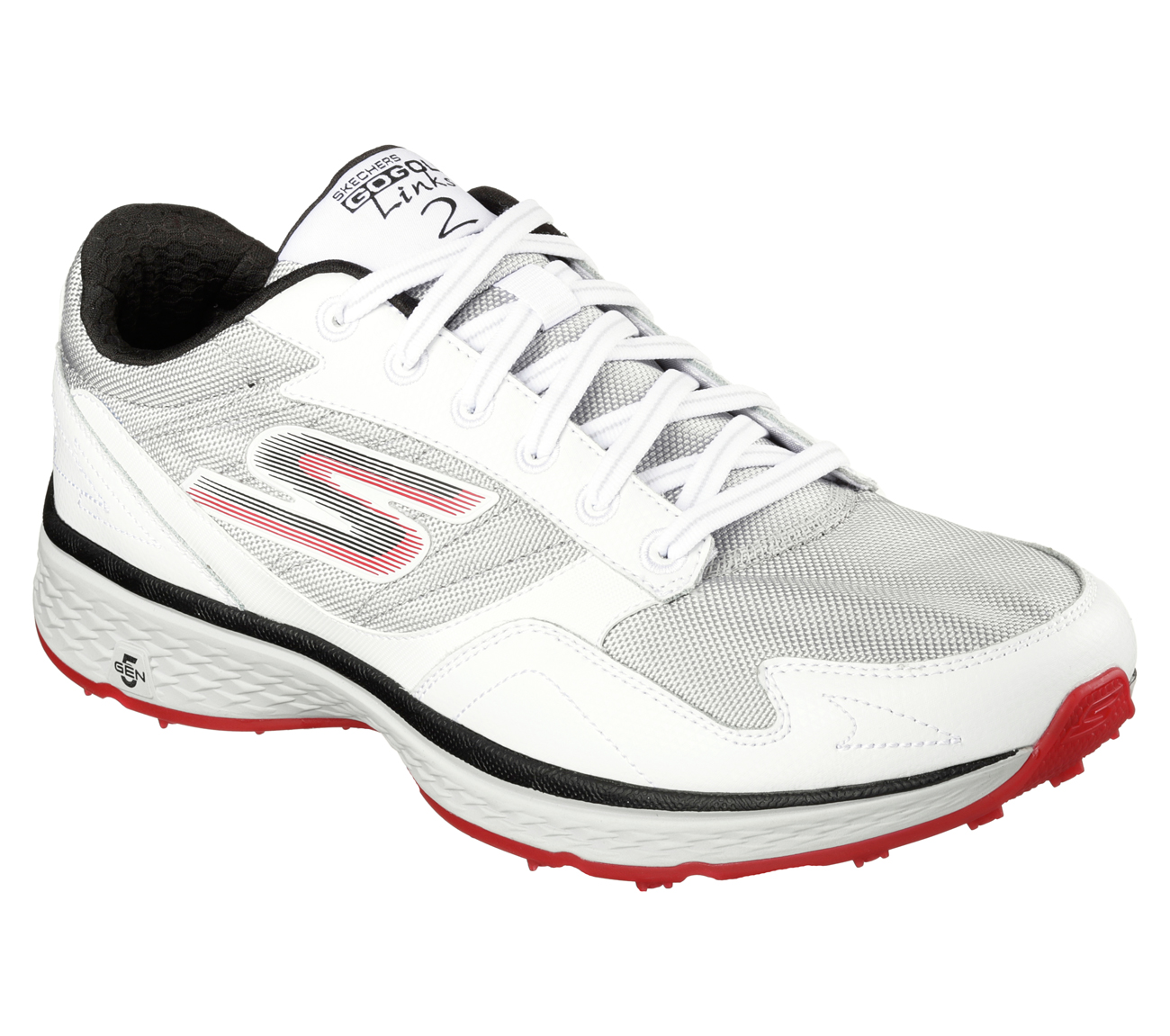Sketchers Men's Go Golf Fairway Golf Shoe White