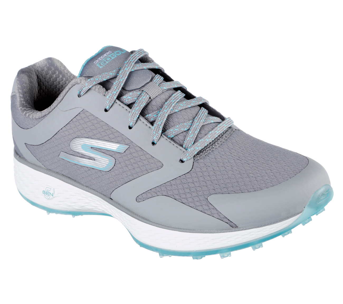 Sketchers Women's Go Golf Birdie Golf Shoe - Grey