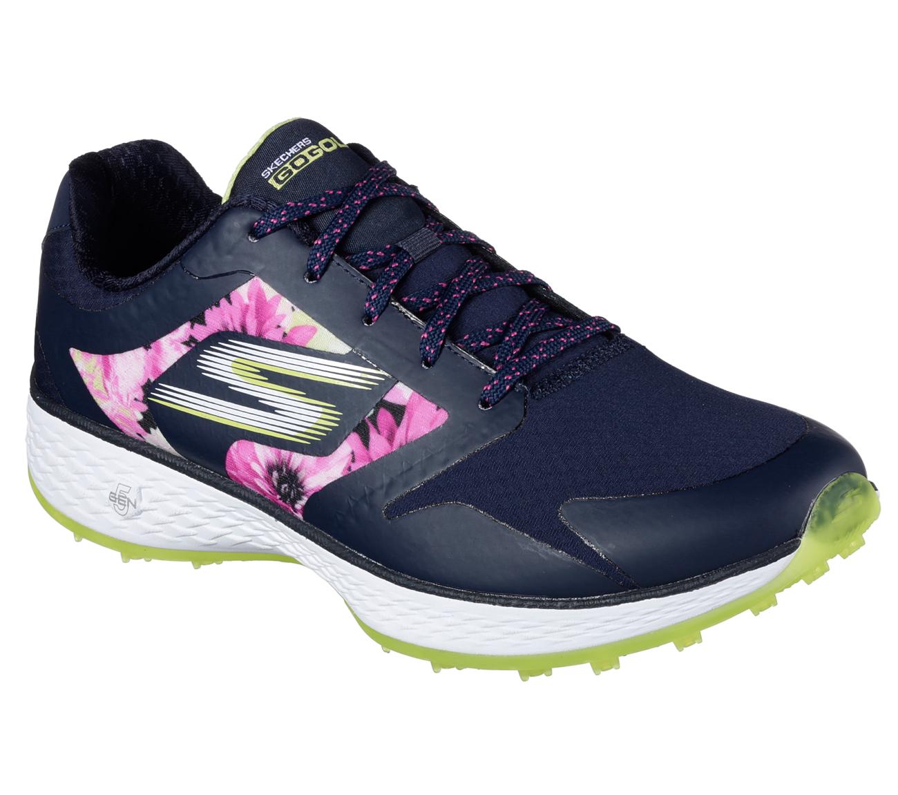 Sketchers Women's Go Golf Birdie Tropic Golf Shoe - Navy