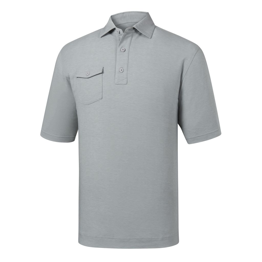 FootJoy Men's Spun Poly Athletic Fit Polo