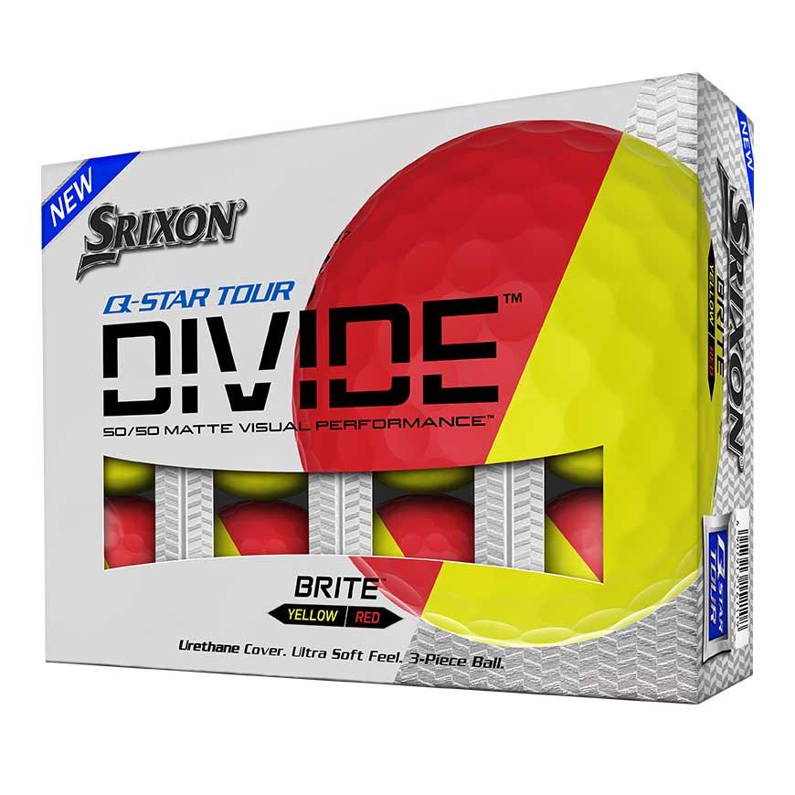 Srixon Q Star Tour Divide Golf Balls