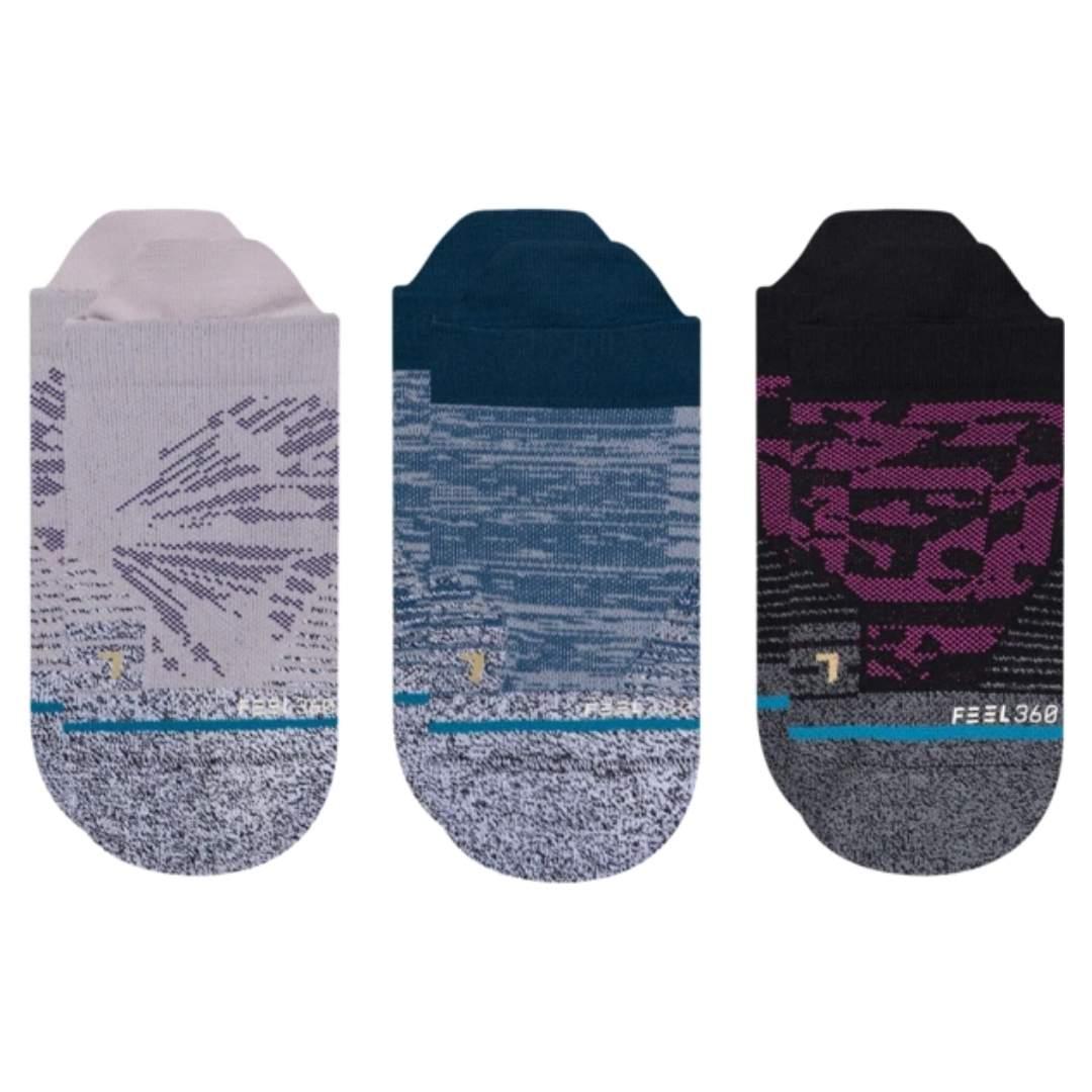 Stance Women's Athletic Flutter 3-Pack Socks