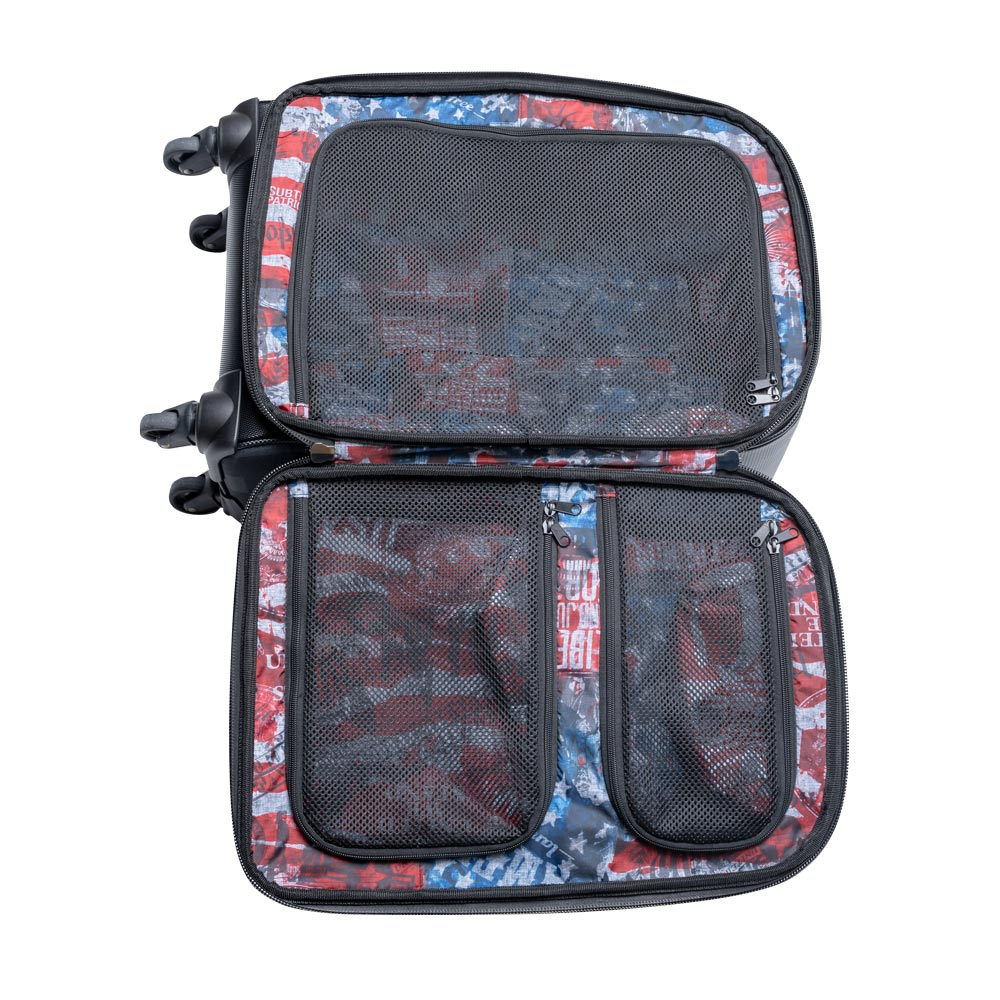 Subtle Patriot Covert Hybrid 22 Inch Cabin Luggage