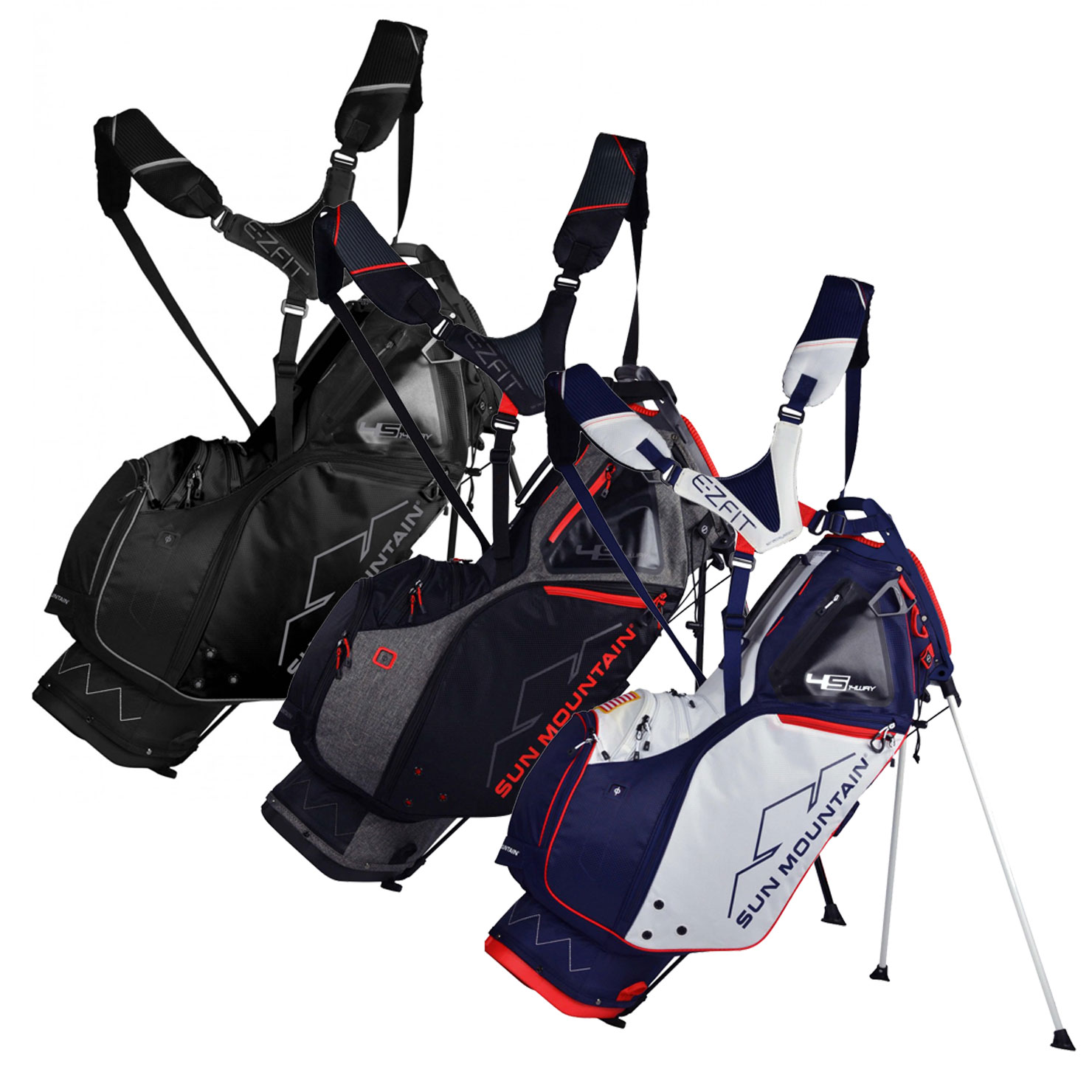 Sun Mountain 2019 Four 5 LS 14-Way Stand Bag