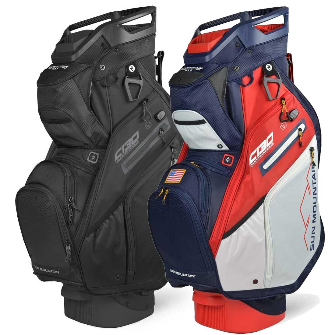 Sun Mountain 2020 C-130 Supercharged Cart Bag