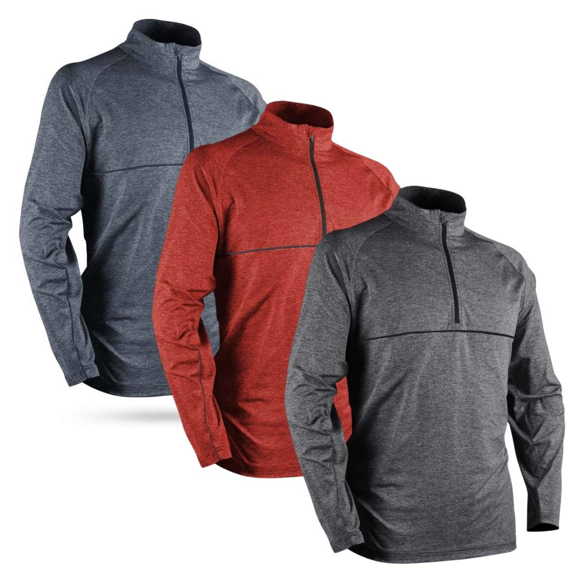 Sun Mountain 2021 Men's Second Layer Pullover