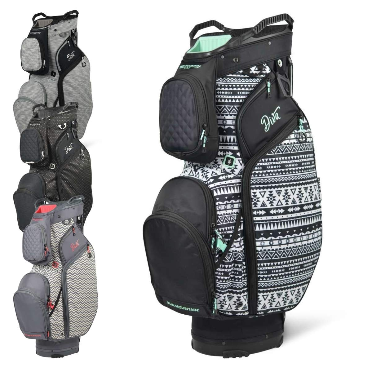 Sun Mountain 2021 Women's Diva Cart Bag