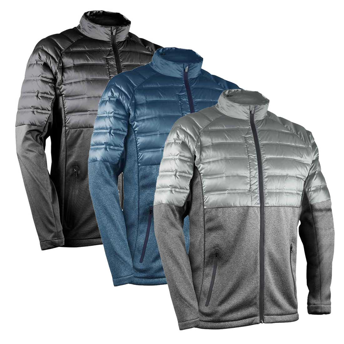 Sun Mountain Men's AT Hybrid Full Zip Jacket