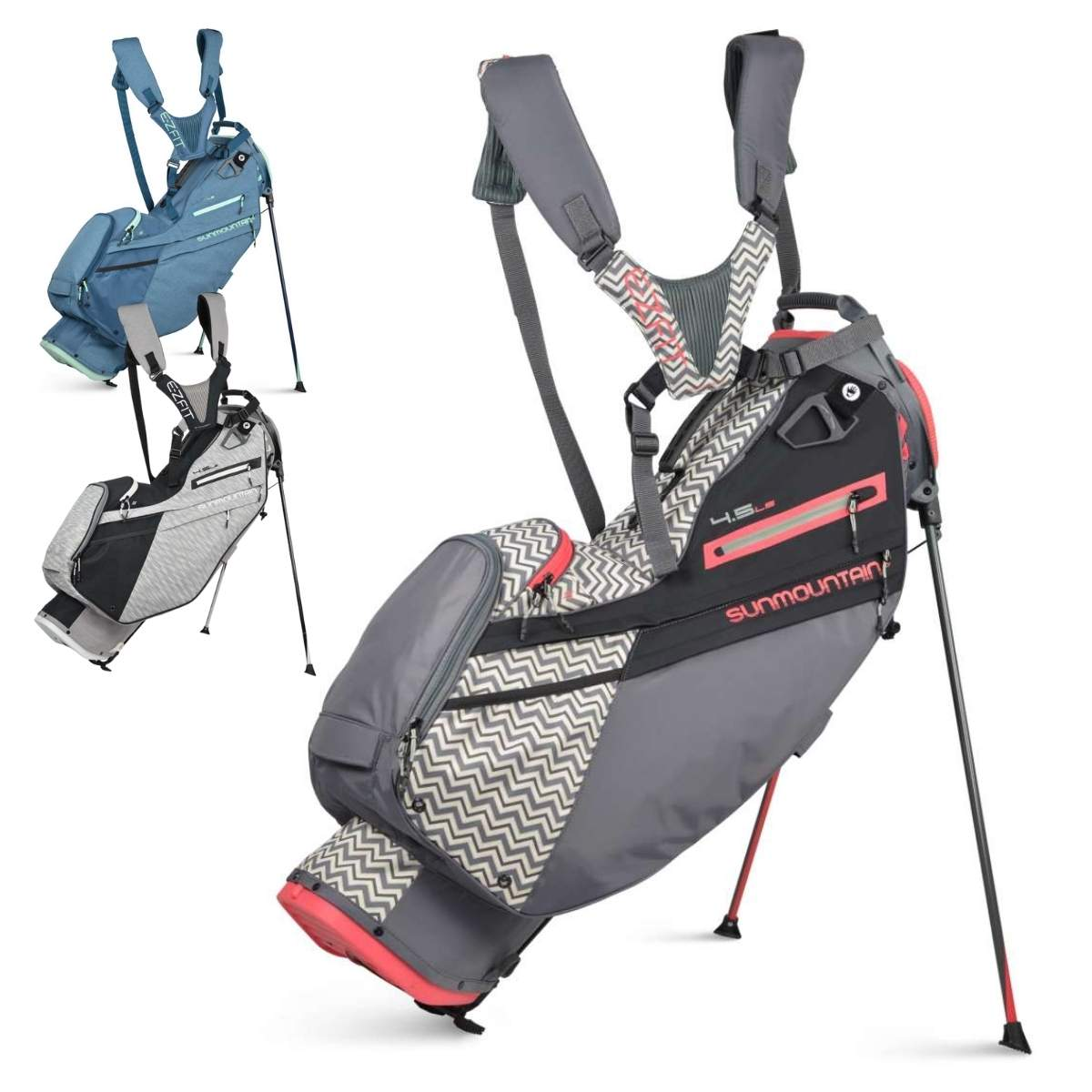 Sun Mountain Women's 2021 4.5 LS 4-Way Stand Bag