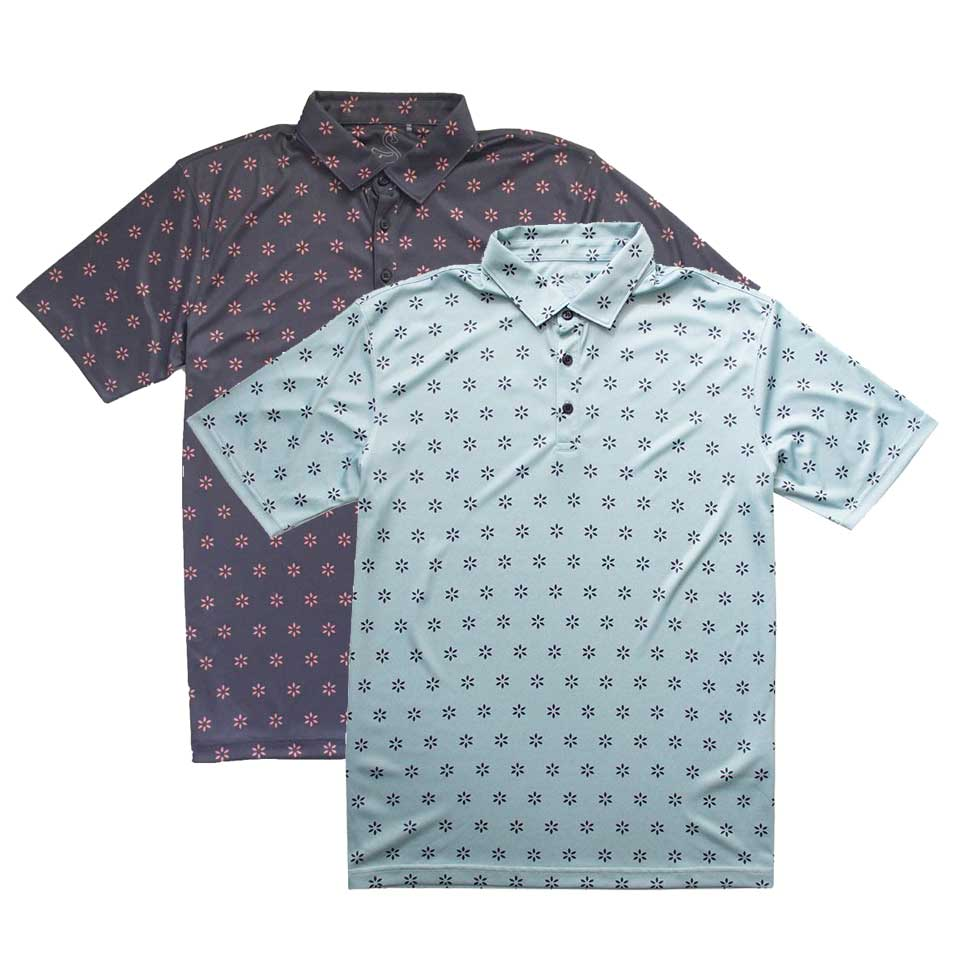 Swannies Bussell Print Polo