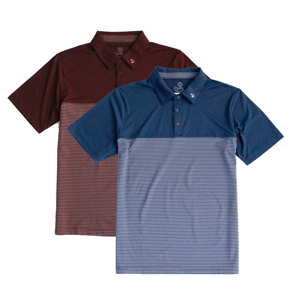 Swannies Ververs Stripe Polo