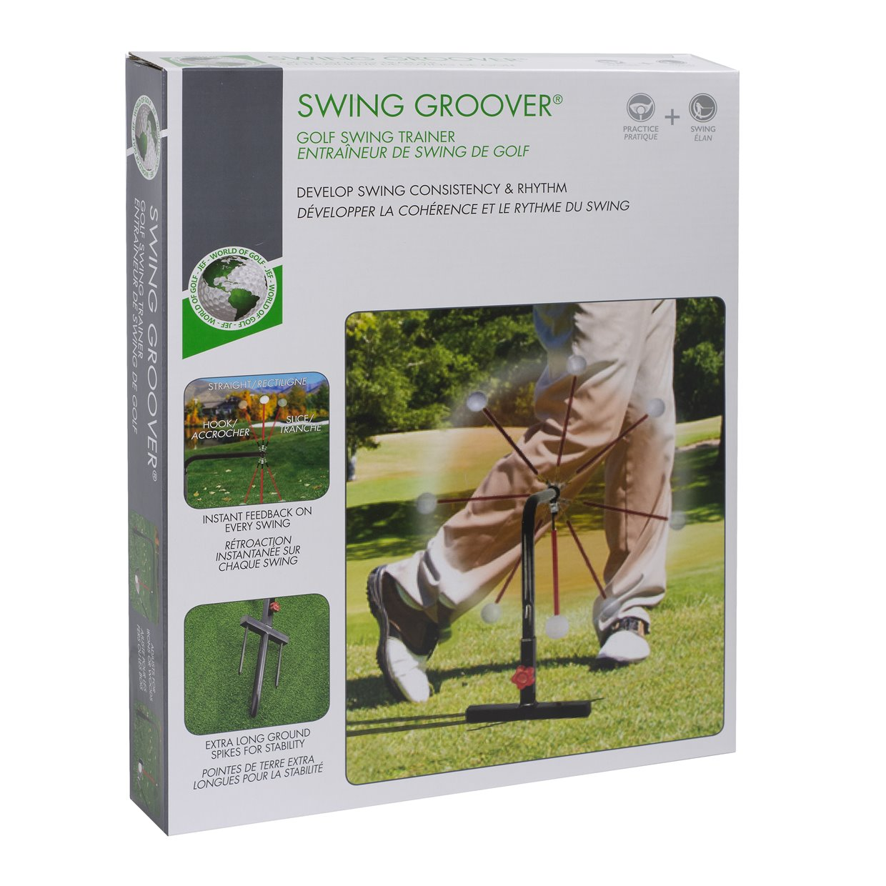 Golf Gifts & Gallery Swing Groover Black Swing Trainers Analyzers