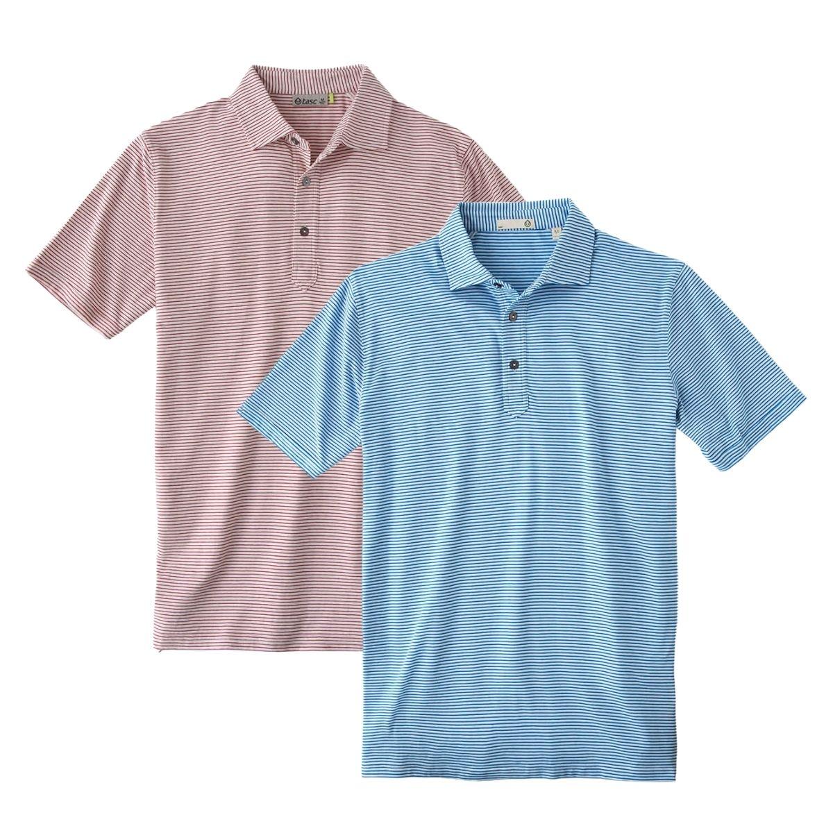 Tasc Men's 2021 Everywear Channel Stripe Polo