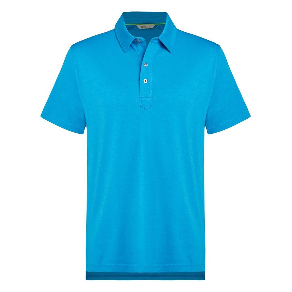 Tasc Performance Bamboo Air Stretch Golf Polo - Ultra Blue