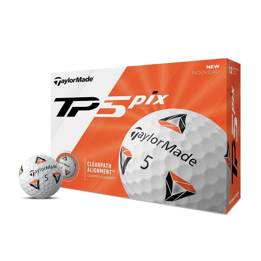 TaylorMade 2020 TP5 PIX Golf Balls