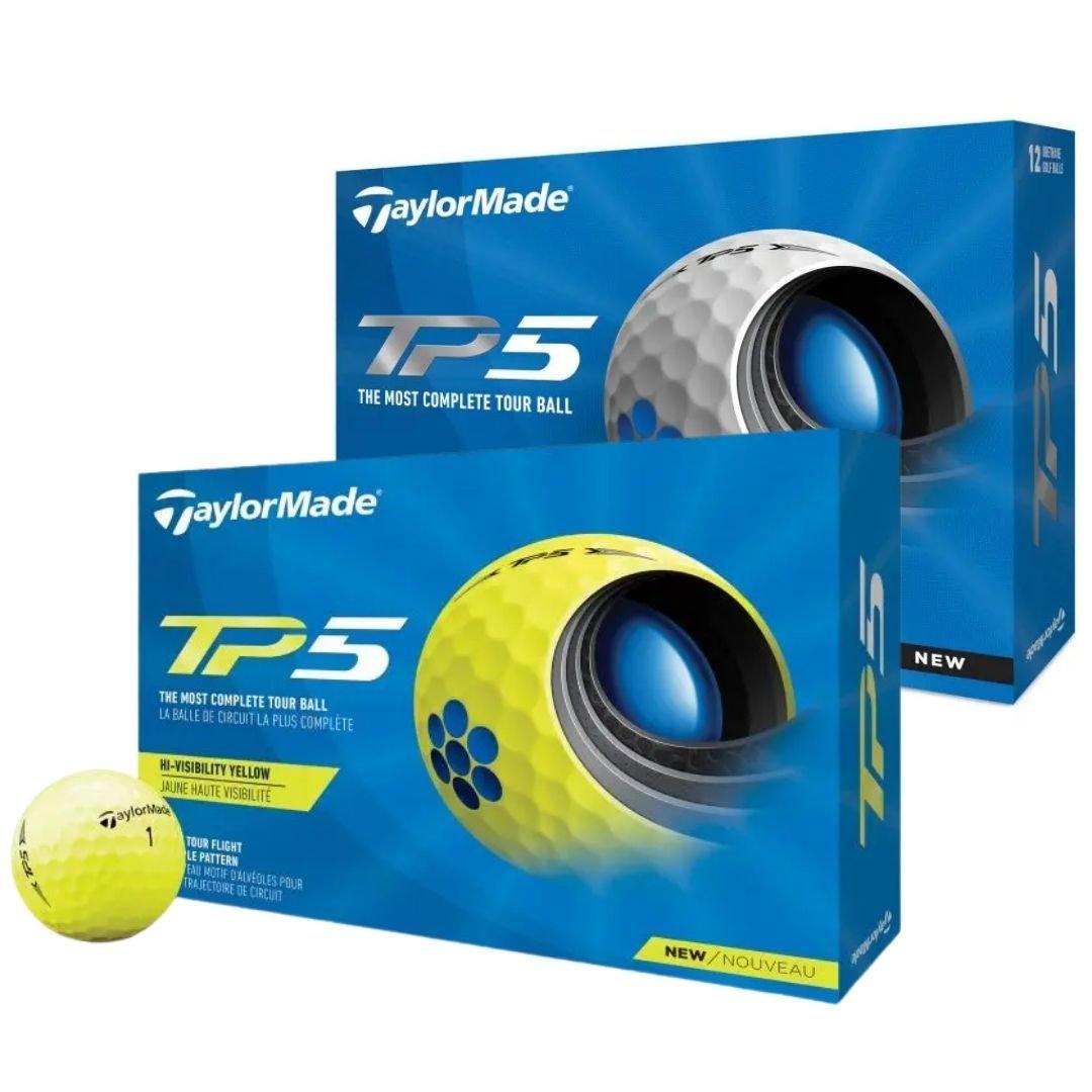 TaylorMade 2021 TP5 Golf Balls