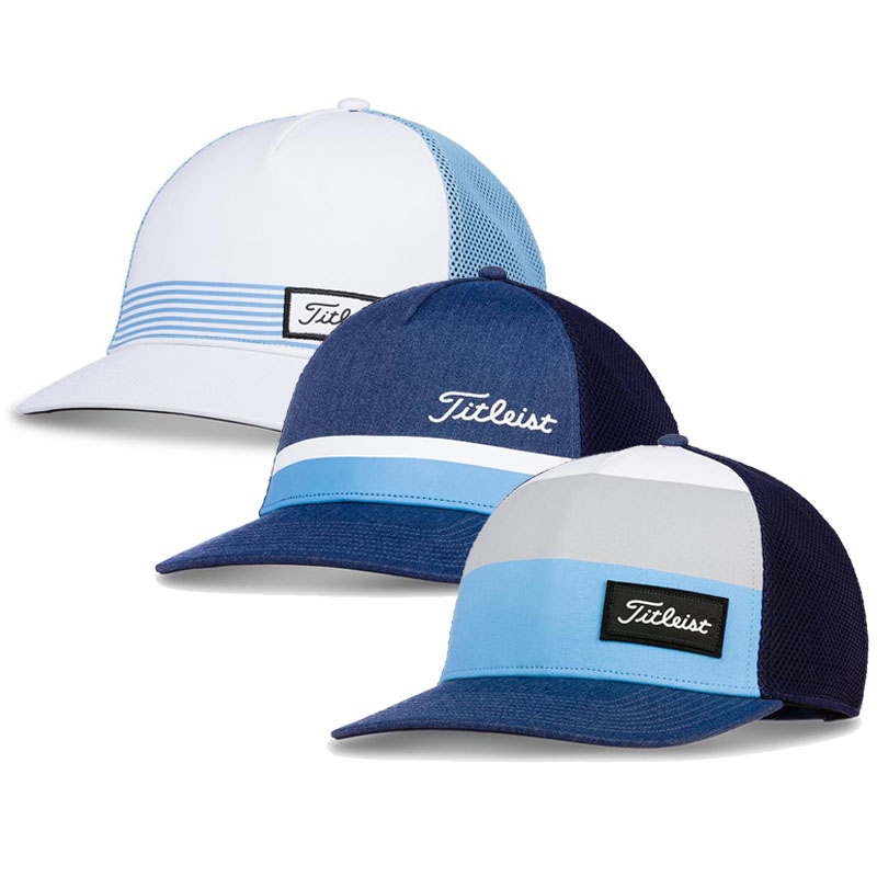 Titleist 2019 Surf Stripe Caribbean Collection Caps