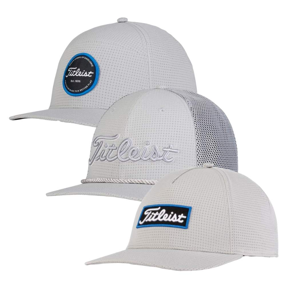 Titleist 2020 Men's West Coast Grey Collection Caps