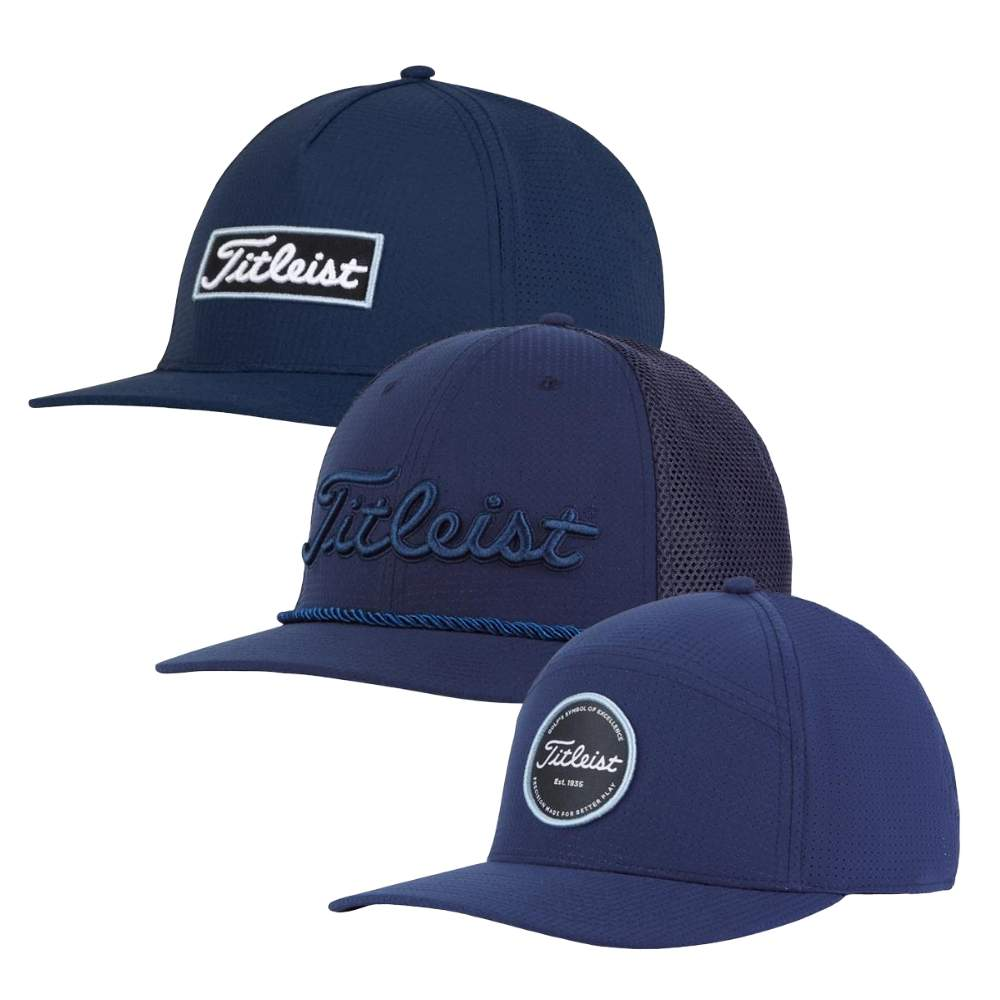 Titleist 2020 Men's West Coast Navy Collection Caps