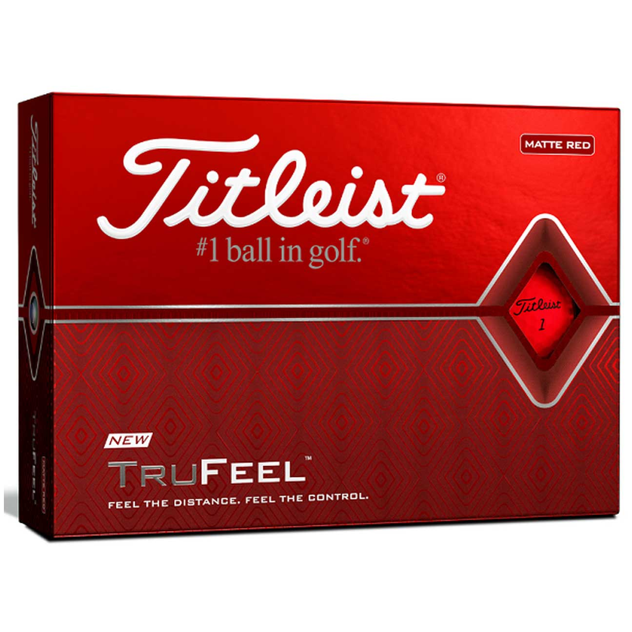 Titleist 2020 TruFeel Matte Golf Balls